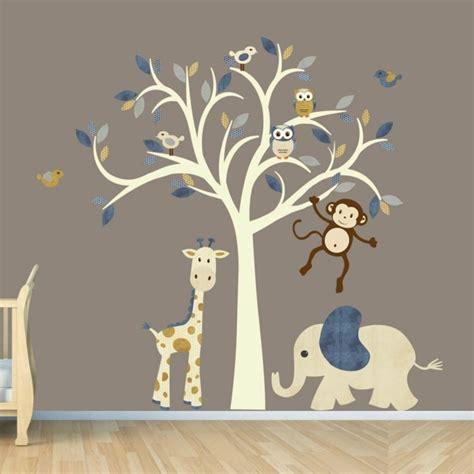 Wandtattoo Kinderzimmer Tiere by 35 Wandtattoos Baum Die Einen Hauch Natur Nach Hause Bringen