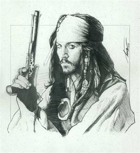 sketch tattoo johnny depp 105 best images about pirates of the caribbean on pinterest