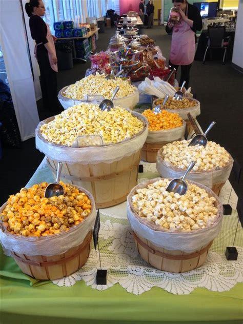 popcorn bar toppings popcorn buffet and popcorn bar on pinterest