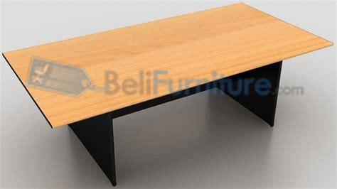 Meja Meeting Bulat Uno Uct8771 Walnut uno classic meja meeting kotak 240 cm murah bergaransi dan lengkap belifurniture
