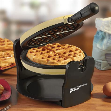 Teflon Waffle rotary belgian waffle maker non stick iron