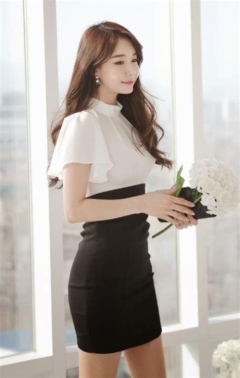 Kp Korean Style Dress by Http Luxeasian Luxe Asian Design Korean Model