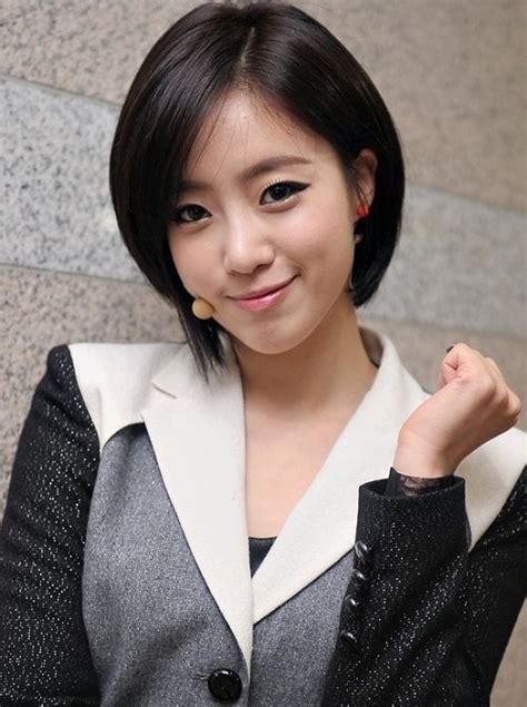 model rambut ala korea model rambut sebahu ala artis korea