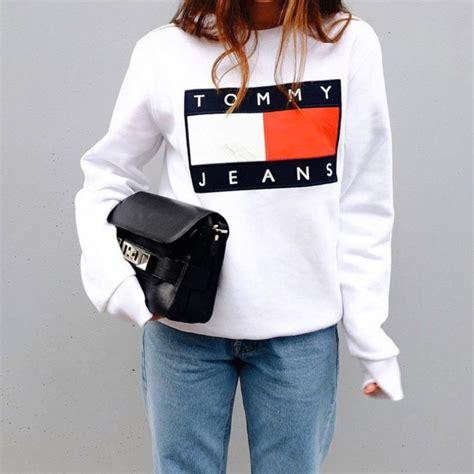 Junkie Fashion Tip Proenza Schouler For Target by Top Hilfiger White Top Sweatshirt Sports