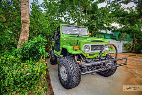 Square Jeep Green Toyota Jeep From Square