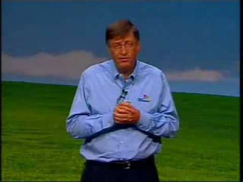 Windows Vista Launch Bill Gates Speech 4 The One Where We Find Out What It Actually Does by Bill Gates Launching Windows Xp And Announcing The