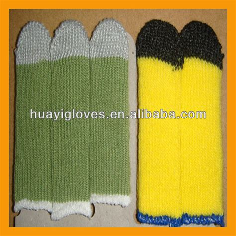 Sarung Tangan Esd layar sentuh dipan jari sarung tangan keselamatan id