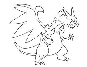 mega charizard coloring page ex coloring pages
