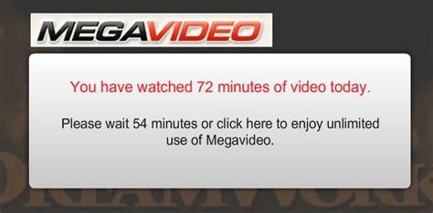 Or Megavideo C 243 Mo Eliminar El Limite De Megavideo