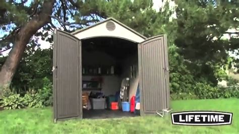 Lifetime Storage Shed 8x10 by Lifetime 6405 Lifetime 8x10 Storage Shed Epic Shed