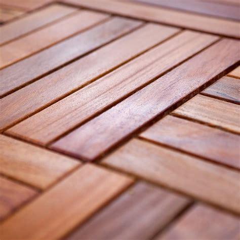 Klick Fliesen Holz 607 by Cumaru Holzfliesen Glatt 30x30cm Fsc Zertifiziert