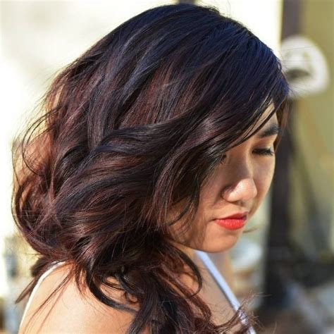 black hair with redish highlights 2014 would red highlights look good with black hair quora