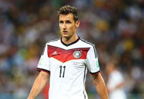 Backroom Russian by Miroslav Klose Out Germany Return Goal