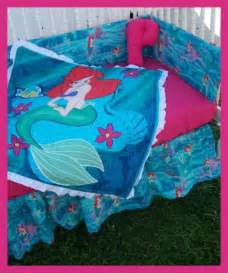 Ariel Bedroom Set The Mermaid Crib Bedding Set New Baby