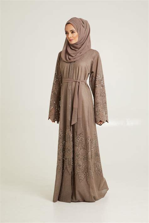 Dress Muslim Black Lace Set abayas hijabs modest islamic fashion abayabuth