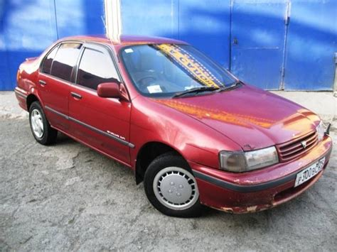 92 Toyota Tercel 1992 Toyota Tercel Pictures 1500cc Gasoline Automatic