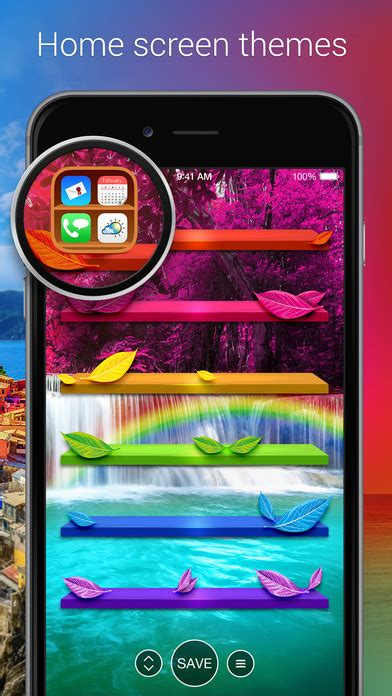 iphone themes app store pimp your screen custom themes wallpapers on the app store