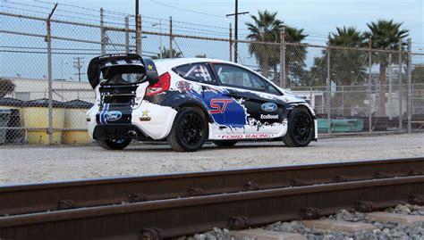 rallycross truck ford fiesta st global rallycross chionship race car
