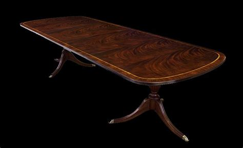 new american made antique style pedestal dining table