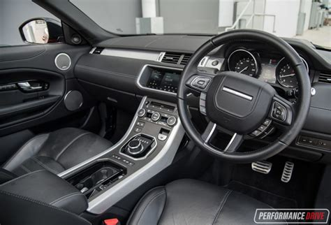 land rover convertible interior range rover evoque convertible si4 review video