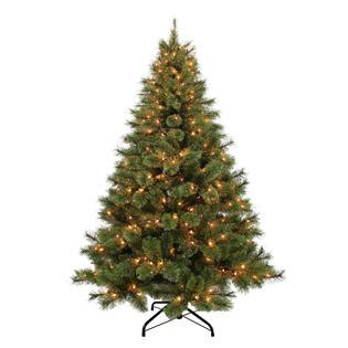 donner and blitzen tree donner blitzen 6 5 pre lit westchester deluxe pine tree