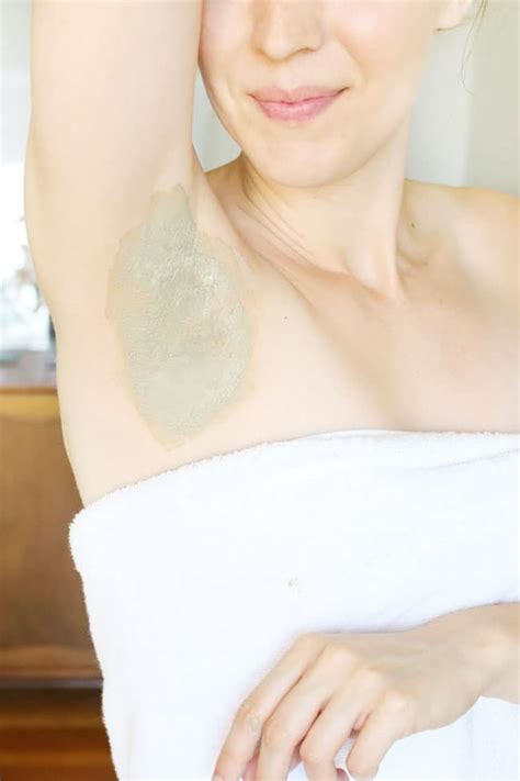 Sweat Detox Results by Armpit Detox Mask How To Switch To Deodorant
