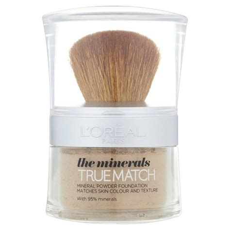 Bedak L Oreal True Match Mineral l oreal true match minerals powder honey glow n6 10ml ebay