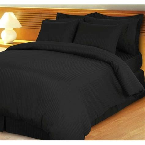 bed in a bag cal king 600tc black stripe bed in a bag 8pc cal king