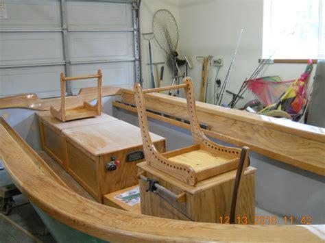 drift boat seat ideas seat frame pattern wooden boat