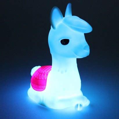 colour change alpaca night light