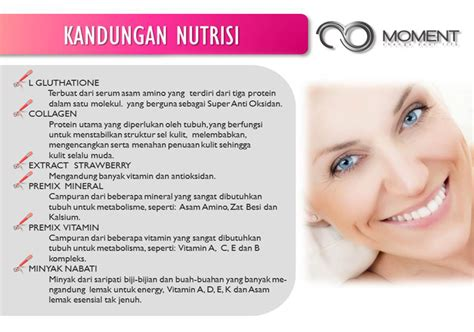 Moment Collagen Asli moment glucogen produk nutrisi glutathione untuk