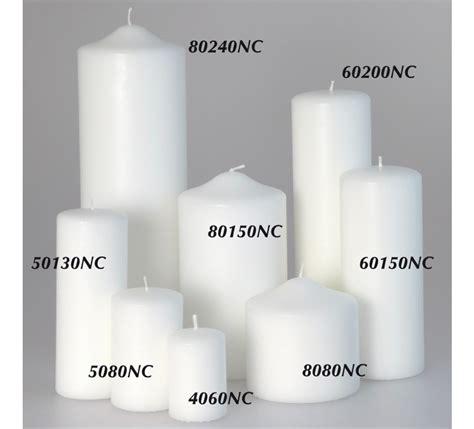 candele vendita candele candelotto moccolo bianco d 60 h 150 mm