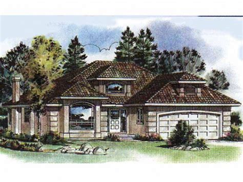 Mediterranean House Plans 2 Story Cottage House Plans