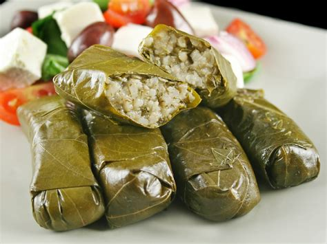mediterranean stuffed grape leaves dr weil s healthy