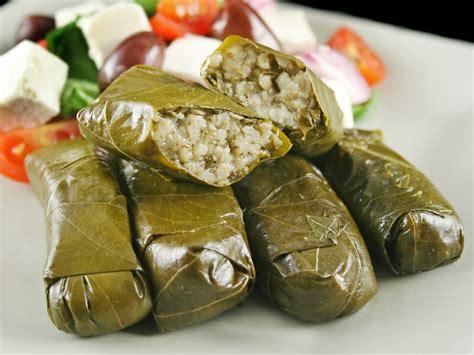 mediterranean stuffed grape leaves dr weil s healthy kitchen
