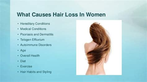 what causes hair loss in 50 what can cause hair loss in women