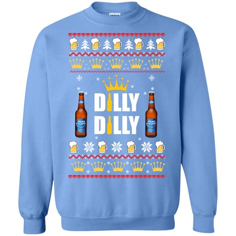 bud light sweater bud light dilly dilly sweater robinplacefabrics