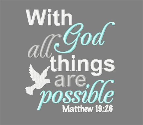 All Things Possible buy 3 get 1 free with god all things are possible dove