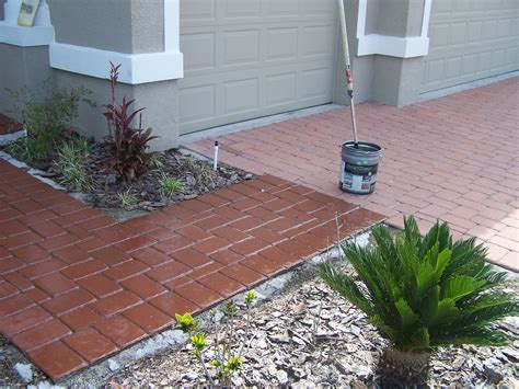 Staining Patio Pavers How To Stain Concrete Patio Stones Modern Patio Outdoor