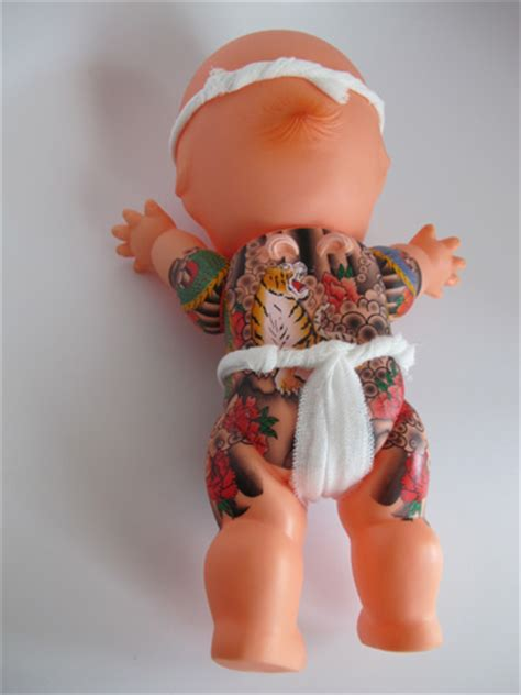kewpie yakuza large 28cm color kewpie doll with fundoshi goods