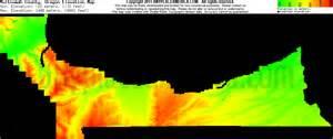 free multnomah county oregon topo maps elevations