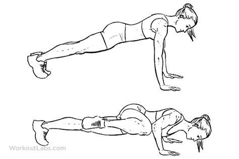 push up diagram push ups pushups workoutlabs