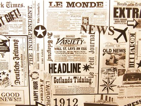 Vintage Newspaper Wallpaper Wallmaya Newspaper Le Monde Background 183 Free Photo On Pixabay