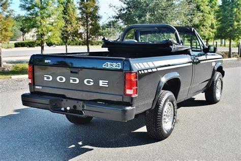 convertible jeep truck 1990 dodge dakota convertible florida truck for sale