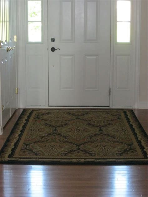 shaped entryway rugs for hardwood floors stabbedinback
