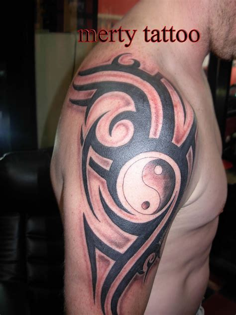simple tribal arm tattoos popular design tattoos fashionable simple tribal