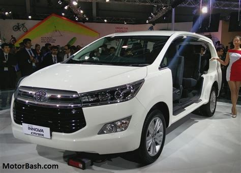 Www New Toyota Innova Launched Innova Crysta Price Variants Features Deliveries