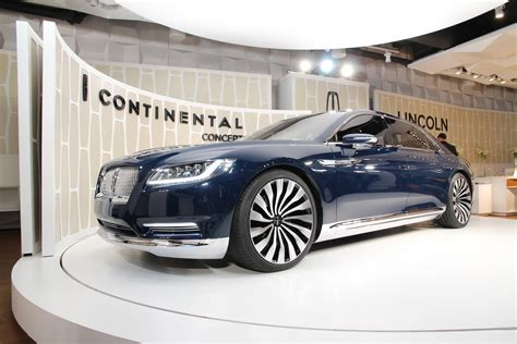 Home Design Show New York 2015 Lincoln Continental Ny Auto Show Lincoln Continental