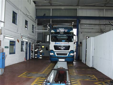 vosa hgv psv test lane facility sheffield mot location