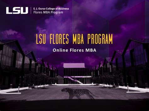 Https Business Lsu Edu Flores Mba Pages Flores Mba Program Aspx by Lsu Flores Mba Mba